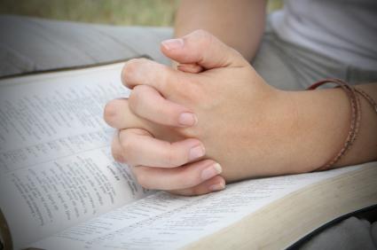 Prayer - folded hands