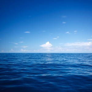 Water - peaceful blue ocean