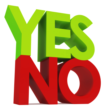 "Saying ""No"" to say ""Yes"""