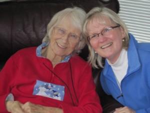 Gaye and Mom