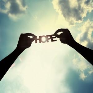 Hope in sky