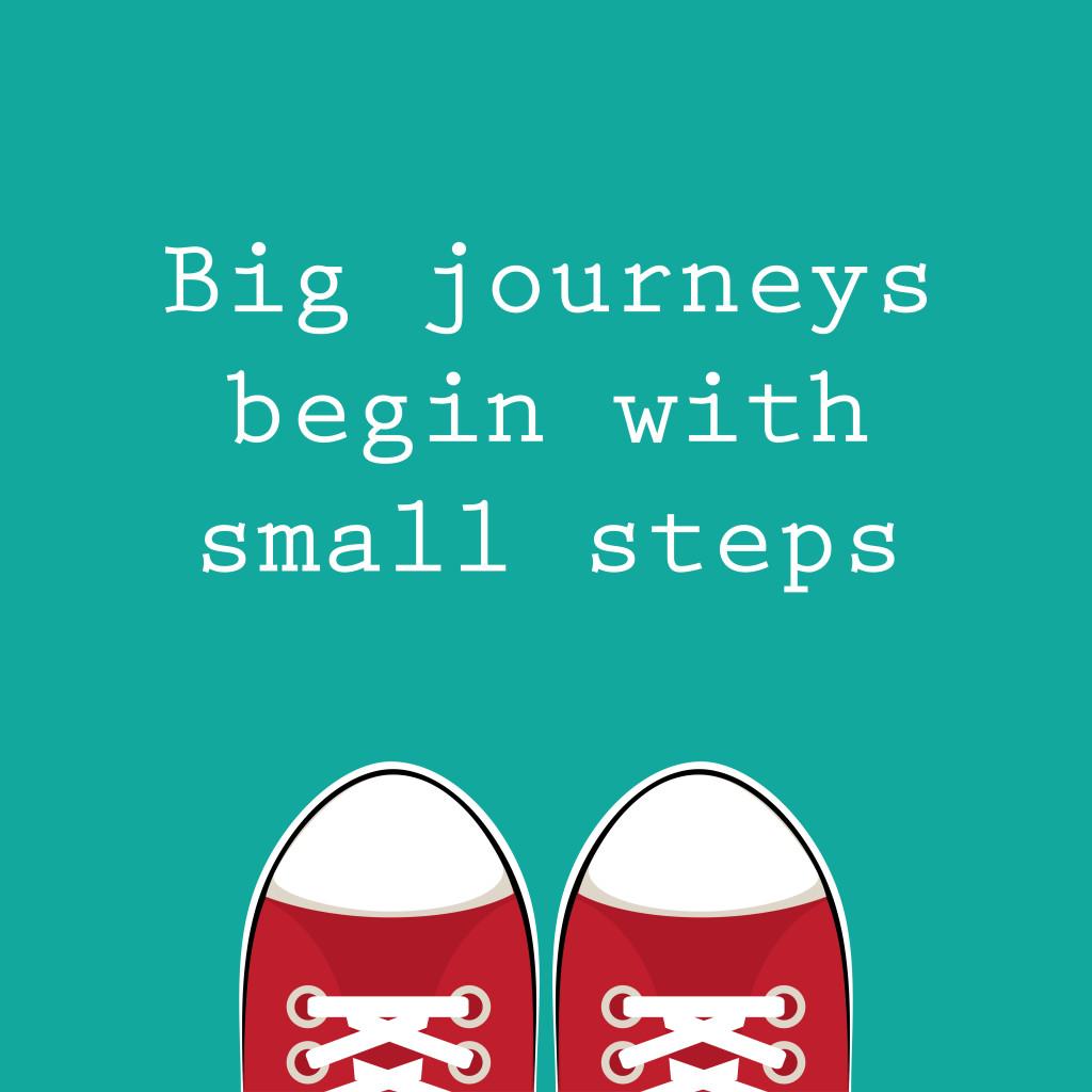 Big journey small steps