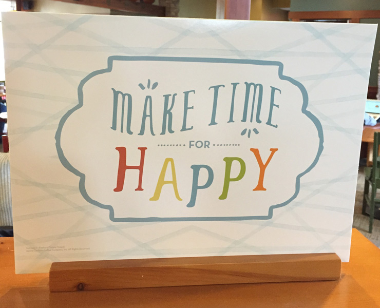 Make Time for Happy from Gaye Lindfors