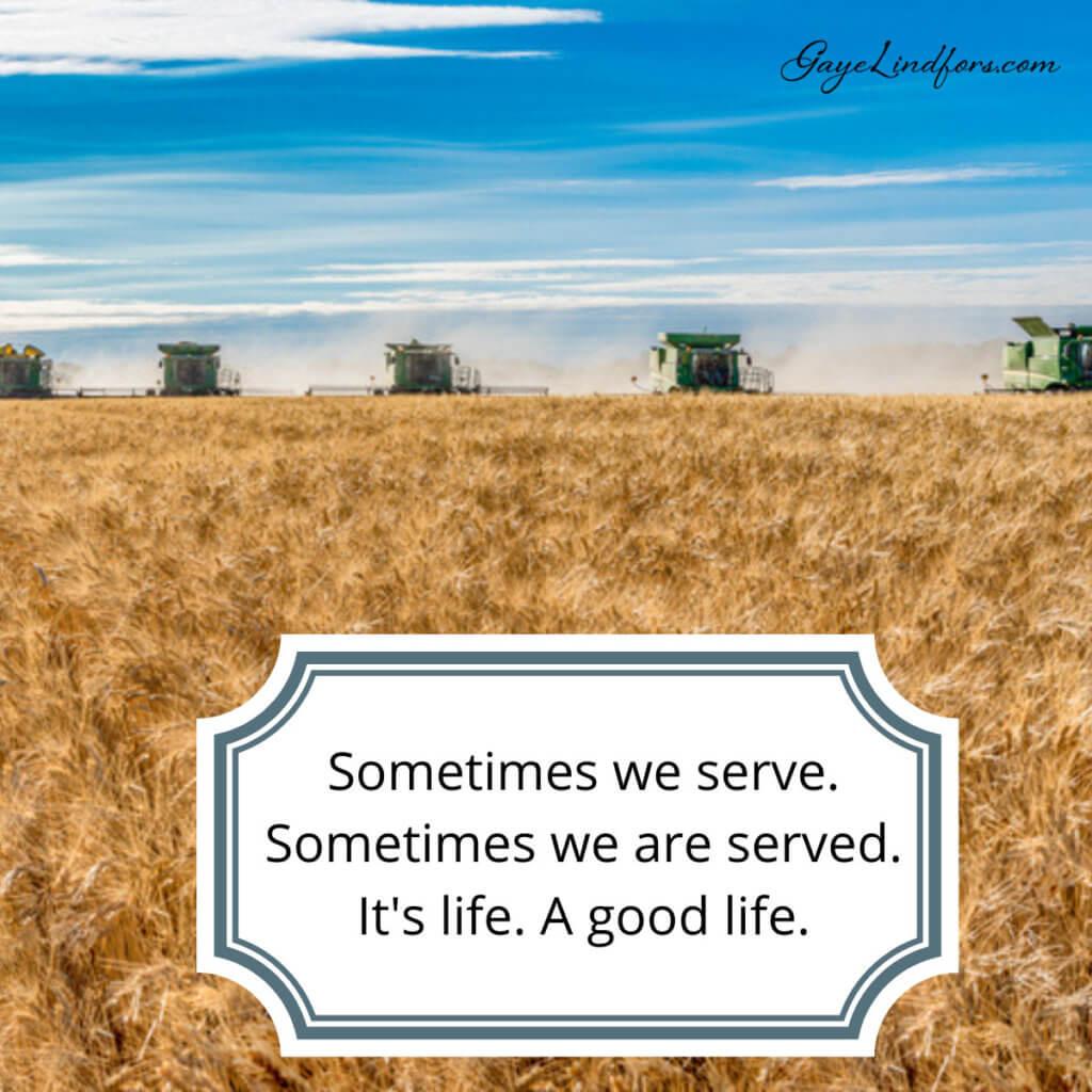 Sometimes We Serve